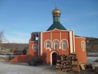 Пос. Вершино-Дарасунский, храм Успения Божией Матери