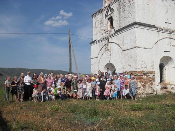 с.Калиновка, Успенский храм, самый древний в Забайкалье